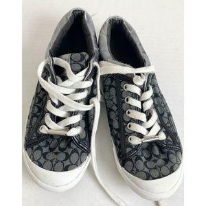 Coach Signature Franesca Tennis Shoes Size 7B